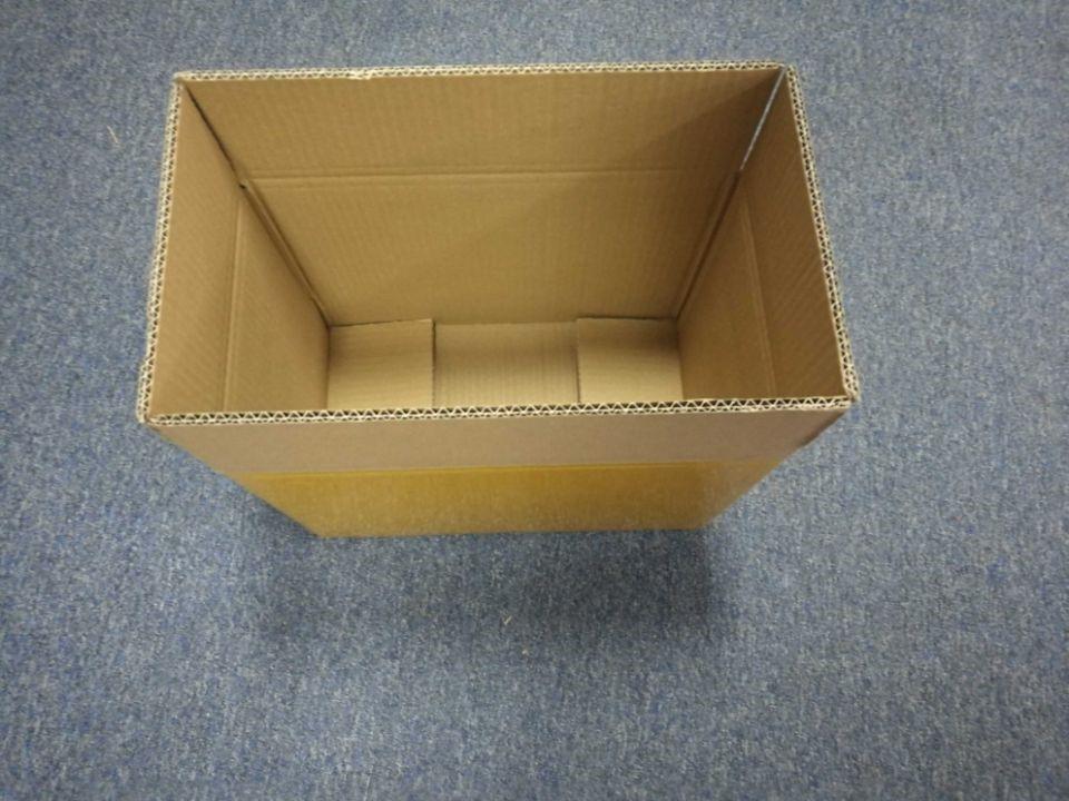 preparing one new carton