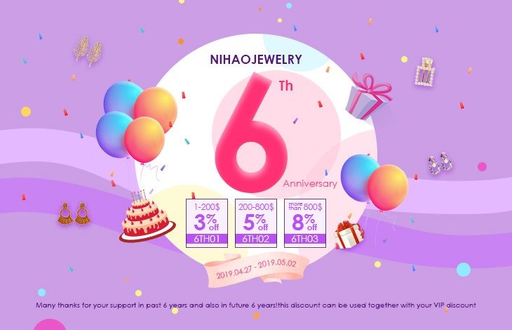 Nihaojewelry 6TH